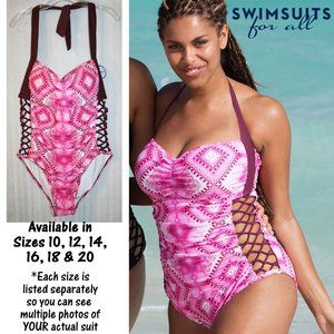 NWT in Package Boss Gusto Star Underwire Swimsuit